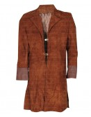 Firefly Malcolm Reynolds (Nathan Fillion) Suede Coat