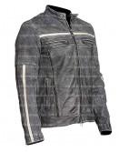 Affliction Cafe Racer Distressed Leather Jacket