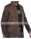 Inception Leonardo Dicaprio Brown Leather Jacket