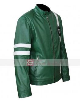 Ben 10 Ryan Kelley (Ben Tennyson) Green Jacket