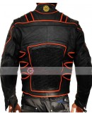 X-Men Wolverine Special Black Biker Costume Leather Jacket