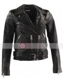 Death Wish Camila Morrone Leather Jacket