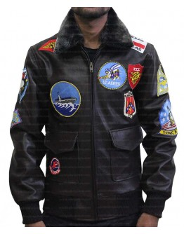 Top Gun Maverick (LT.Pete Mitchell) Leather Jacket
