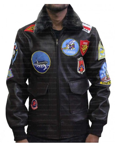 Top Gun Tom Cruise (Maverick) Leather Jacket
