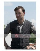 The Walking Dead Season 3 David Morrissey Quilted Vest