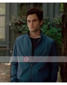 You Tv Series Penn Badgley Blue Cotton Jacket