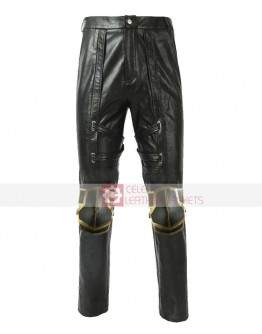 Avengers Endgame Hawkeye Ronin Leather Pant