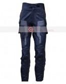 Captain America Chris Evans Costume Leather Pant