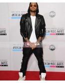 Singer Chris Brown Leather Pant