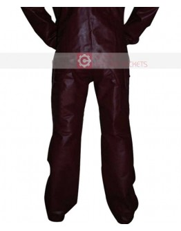 Guardians of the Galaxy Chris Pratt Leather Pant