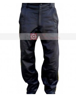 Hancock Will Smith Leather Pant