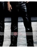 Mark Wahlberg Star Leather Pant