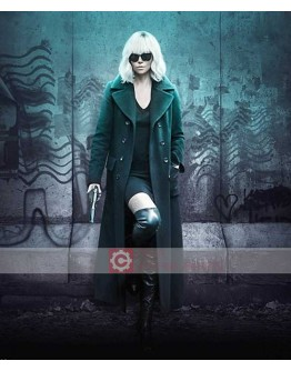 Atomic Blonde Charlize Theron (Lorraine Broughton) Coat