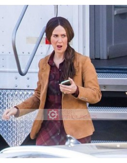 Bird Box (Sarah Paulson) Suede Leather Jacket