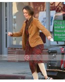 Bird Box (Sarah Paulson) Suede Leather Jacket