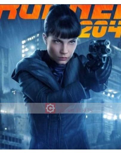 Blade Runner 2049 Sylvia Hoeks Luv Black Leather Jacket