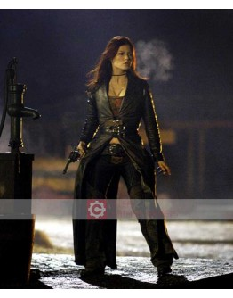 BloodRayne 3 Natassia Malthe Black Costume Coat