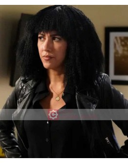 Brooklyn Nine Nine Stephanie Beatriz Black Leather Jacket
