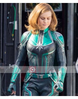 Captain Marvel Brie Larson (Carol Danvers) Costume Jacket