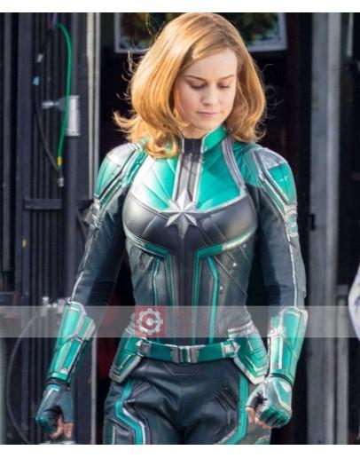 Captain Marvel Brie Larson (Carol Danvers) Costume Jacket