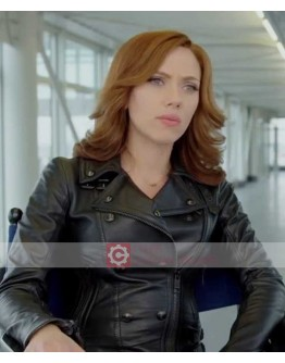 Captain America Civil War Scarlett Johansson (Black Widow ) Jacket