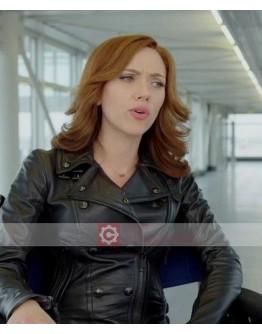 Captain America Civil War Scarlett Johansson (Black Widow ) Jacket