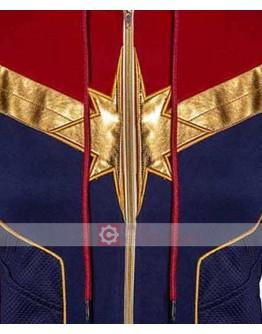 Captain Marvel Carol Danvers Hoodie Jacket