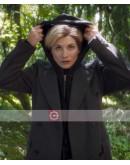 Doctor Who Tv Series Jodie Whittaker Grey Coat