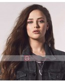 13 Reasons Why Katherine Langford (Hannah) Denim Jacket