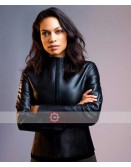 Zombieland Double Tap Rosario Dawson Leather Jacket