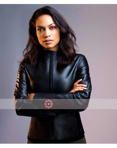 Zombieland Double Tap Rosario Dawson Leather Jacket