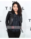Singer Alessia Cara Biker Leather Jacket