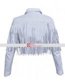 Ferris Bueller's Day Off Sloane Peterson Fringe Leather Jacket