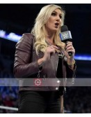 WWE Charlotte Flair Leather Jacket