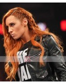 WWE Smack Down Becky Lynch Leather Jacket