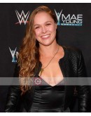 WWE Ronda Jean Rousey Leather Jacket