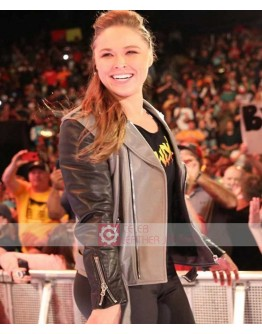 WWE Ronda Rousey Stylish Leather Jacket