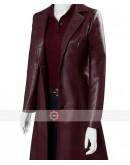 X-Men Dark Phoenix Sophie Turner Leather Coat