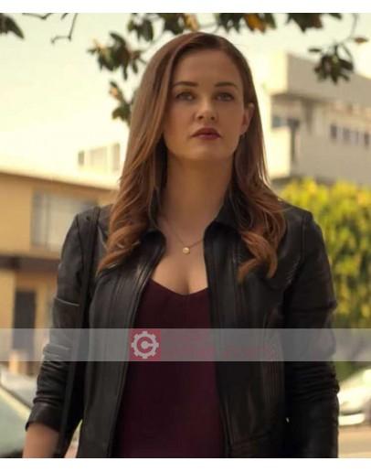 You Season 2 Ambyr Childers Leather Jacket