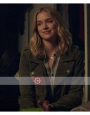 You Tv Series Elizabeth Lail Green Jacket