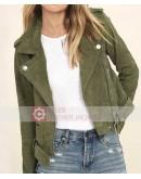 You Tv Series Elizabeth Lail Green Jacket