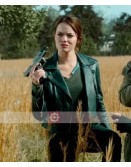 Zombieland Double Tap Emma Stone Biker Leather Jacket