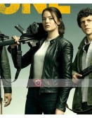 Zombieland Double Tap Emma Stone Leather Jacket
