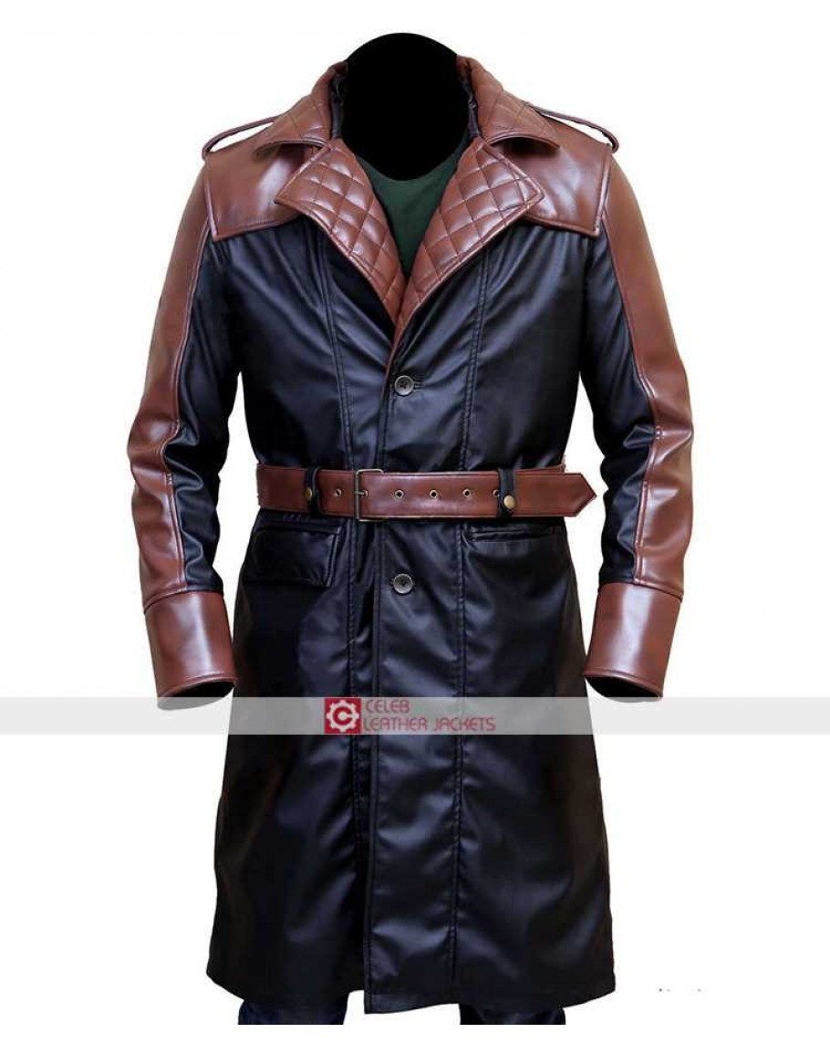 Assassins Creed Real Leather Coat