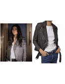 Pretty Little Liars Shay Mitchell Emily Fields Grey Jacket