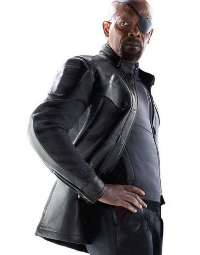 Avengers Age Of Ultron Samuel L. Jackson (Nick Fury) Jacket