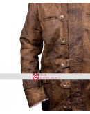BANE Tom Hardy Dark Knight Rises Distressed Coat
