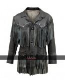 Bob Dylan Fringe Leather Jacket