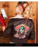 Bombshell Harley Quinn Cosplay Costume Jacket