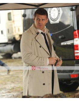 Bones David Boreanaz (Seeley Booth) Coat
